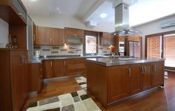 Clean Modern Kitchen Stock Photo