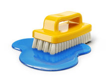 Clean brush Royalty Free Stock Image