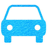 Clean car. Car pictogram filled with water background representing clean car technology Royalty Free Stock Image