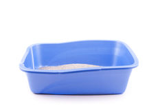 Clean cat litter box Royalty Free Stock Image