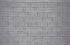 Clean Cinderblock Wall Royalty Free Stock Photo