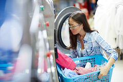 Clean clothes Royalty Free Stock Photos