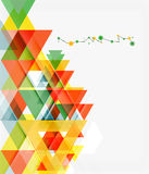 Clean colorful unusual geometric pattern design Stock Photos