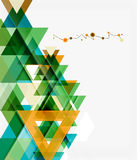Clean colorful unusual geometric pattern design Royalty Free Stock Photo
