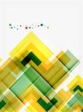 Clean colorful unusual geometric pattern design Stock Photo