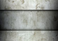 Clean concrete template plaster background Stock Image