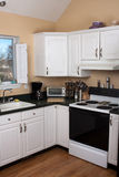 Clean Contemporary Kitchen Interior Royalty Free Stock Images