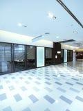 Clean corridor Royalty Free Stock Image