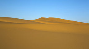 Clean desert Royalty Free Stock Photography