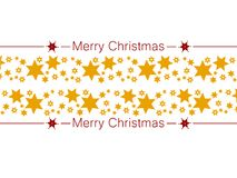 Festive card. Merry Christmas decoration with stars. Clean design for Christmas prints. Festive card. Merry Christmas decoration with stars Royalty Free Stock Photos