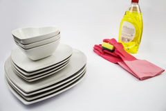 Clean Dishes Stock Photos