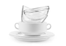 Clean dishes Royalty Free Stock Photos