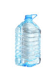 Clean drinking water. A large plastic bottle of clean drinking water. An isolated object. A white background Royalty Free Stock Photos