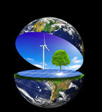 Clean earth Royalty Free Stock Photography