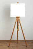 Clean easel stock photo