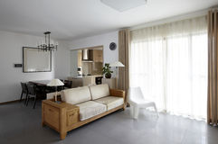 Clean and elegant home interior Stock Image