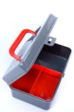 Clean and empty tool box Royalty Free Stock Photos
