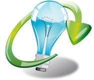 clean energi stock illustrationer