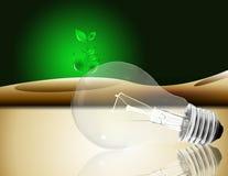clean energi vektor illustrationer