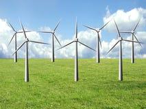 clean energi royaltyfri bild