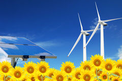 Clean energies Stock Images