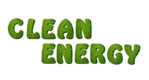 Clean Energy. Stock Photo