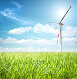 Clean energy concept Royalty Free Stock Images