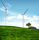 Clean energy concept Royalty Free Stock Photos