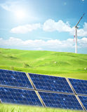 Clean energy concept Stock Image