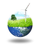 Clean energy concept Stock Photography