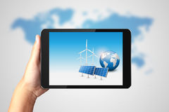 Clean Energy Concept. Royalty Free Stock Images