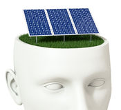 Clean energy concept Royalty Free Stock Image