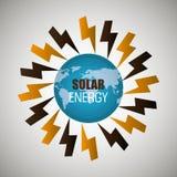 Clean energy design Royalty Free Stock Photos