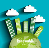 Clean energy design Royalty Free Stock Image