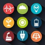 Clean energy design Stock Photo
