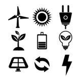 Clean energy design Stock Image