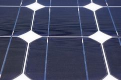Clean energy solar panel Stock Photo