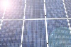 Solar panel cells Stock Photos