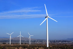 Clean Energy from Wind Royalty Free Stock Image