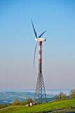 Clean energy from the wind Stock Photo