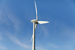 Clean energy wind generator Stock Images