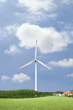 Clean energy, wind power Royalty Free Stock Photo