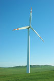 Clean energy, wind power Stock Image