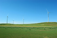 Clean energy, wind power Royalty Free Stock Photography