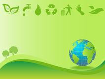 Clean environment and earth Stock Image
