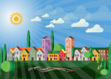 Clean Environment - townscape Stock Images
