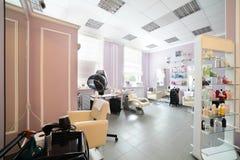 Clean european hair salon Royalty Free Stock Photography