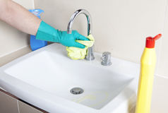 Clean faucet Royalty Free Stock Image