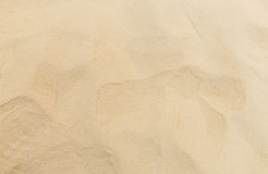Clean fine sand for children playground surface for texture. And background Royalty Free Stock Photography
