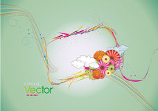Clean floral vector Stock Photos